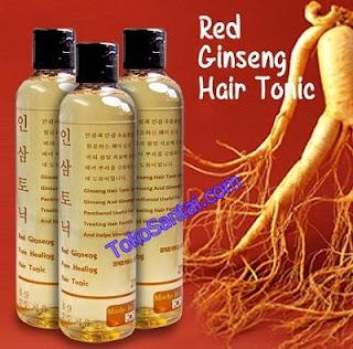 Red Ginseng Hair Tonic Asli