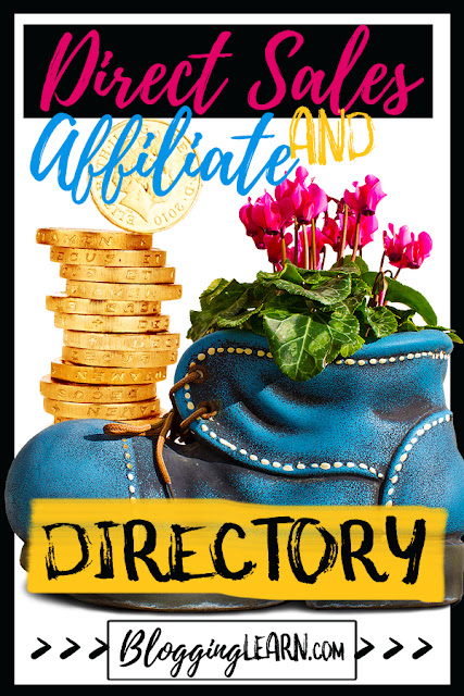 Direct Sales and Affiliate Opportunities Directory ♥ Blogging As I Learn It ♥ Want to make money with your blog? Need ideas on things you can sell? Here's a directory based on the recommendations of sales people and affiliates from these places including beauty, home decor, and even pets.