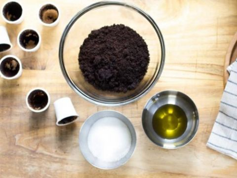 tắm trắng từ cà phê sạch
