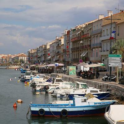 Barcos en Sète