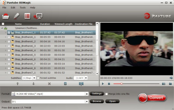 Blu-ray to NAS Converter