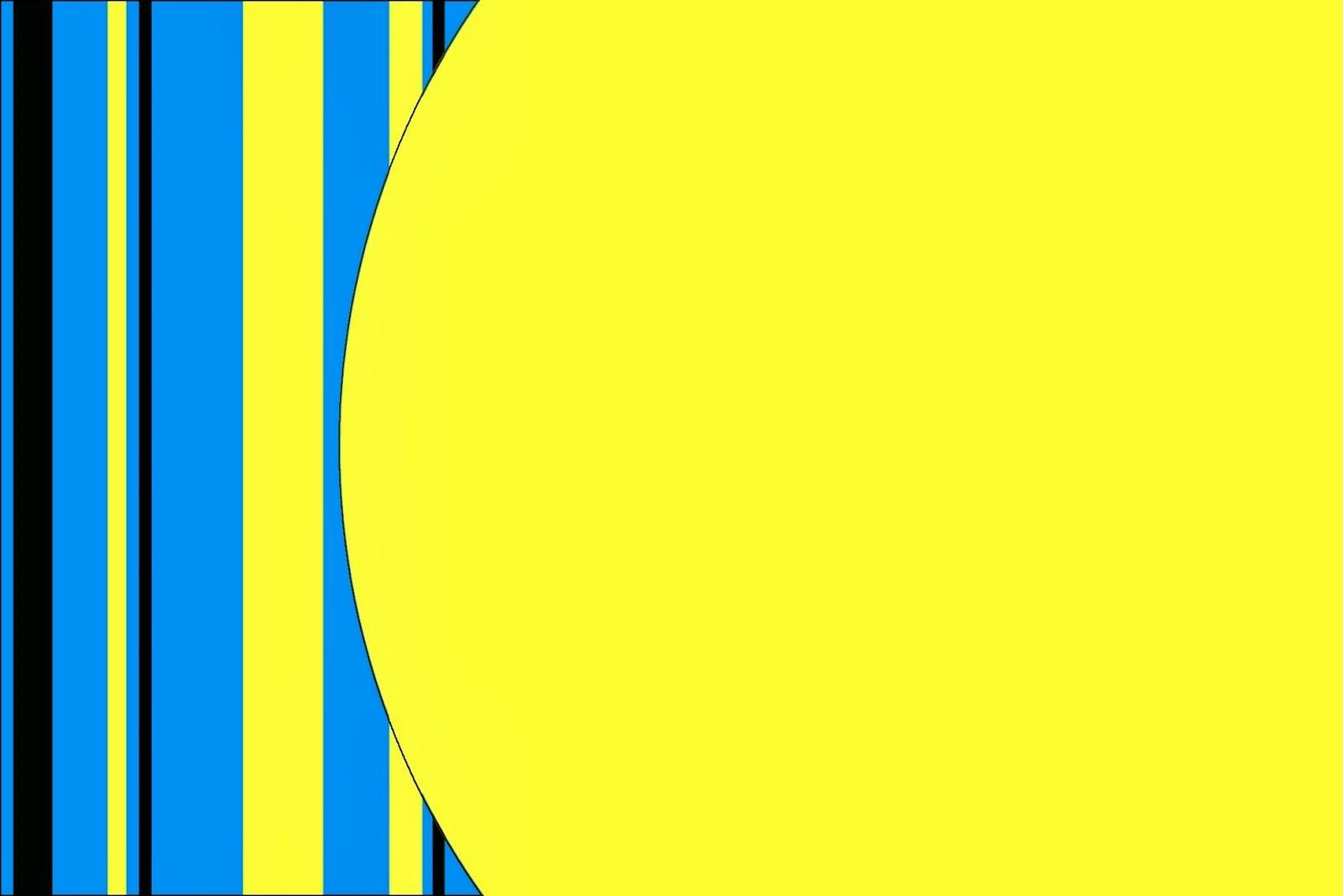 Azul y Amarillo: Tarjetas o Invitaciones para Imprimir Gratis ...