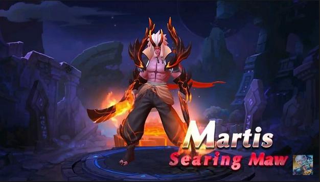 Script Skin Martis Searing Maw ML Terbaru 2018