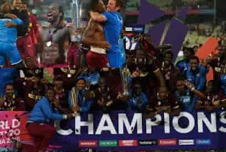 West Indies beat England to win World Twenty20