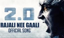 Rajali new song movie 2.0 Song Best Tamil movie Server Sundaram Song