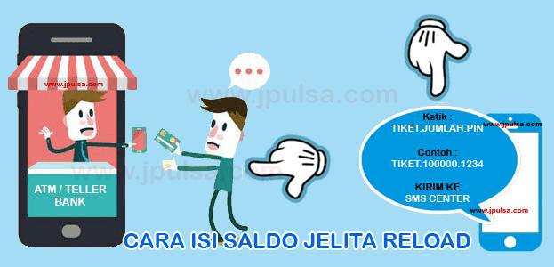 deposit saldo pulsa jelita reload