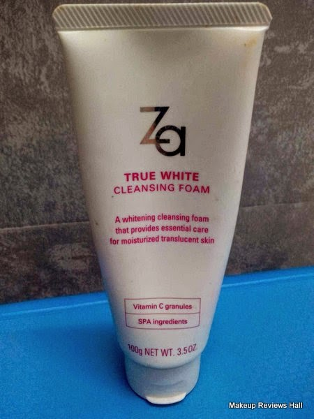 Za True Cleansing Foam Review