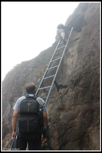 Ladder to Climb Ghangad...