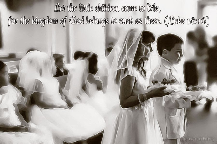First Holy Communion Quotes Prayer Totus Tuus Family