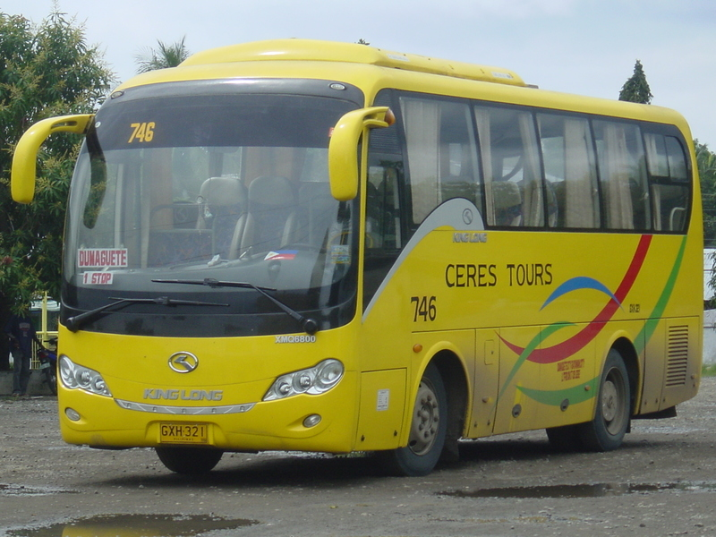Ceres Bus Liner, First in Cebu with WIFI Ready Service ...