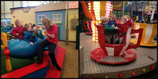 under 5's fairground Butlins