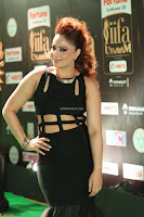 Nikesha Patel in Beautiful Figure Hugging Black Dress  at IIFA Utsavam Awards 2017  Day 2 at  05.JPG