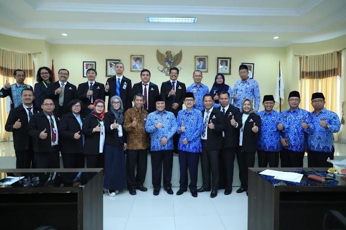 Diklatpim II,  Peserta Visitasi Kepemimpinan Nasional Kunjungi Lampung Selatan