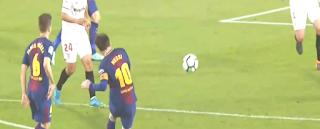 دقيقتان فقط يكفيان برشلونة لتحقيق تعادل مثير أمام إشبيلية