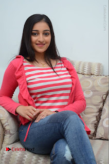 Telugu Actress Mouryani Latest Pos in Blue Denim Jeans  0132.JPG