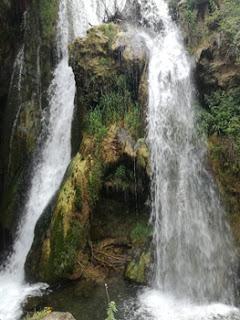 Cascada del Molino Viejo de Teruel. Foto: T.R.