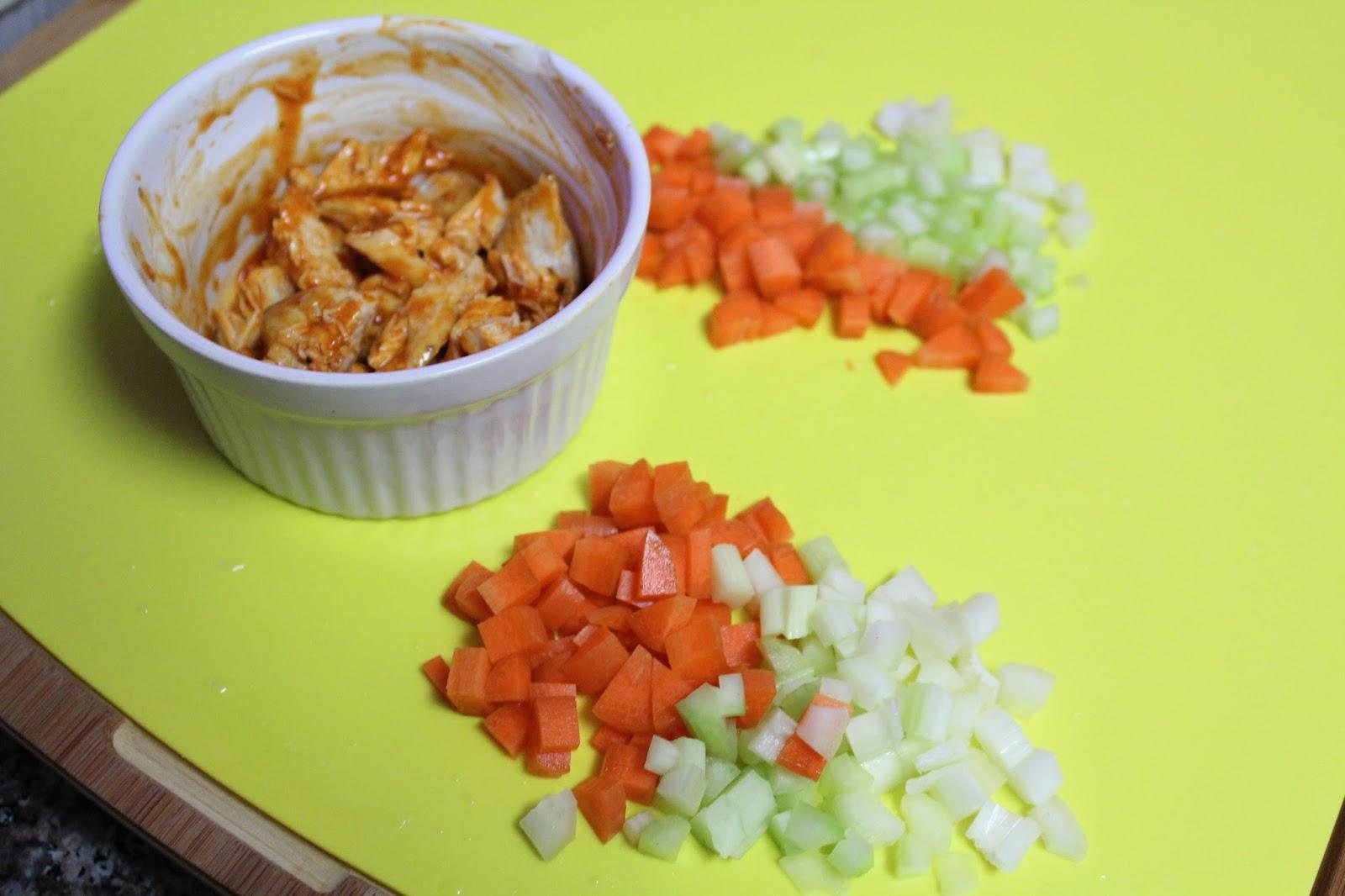 bufflo chicken toppings