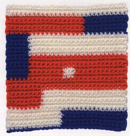 Patrón #1581: Granny Abstracción a Crochet
