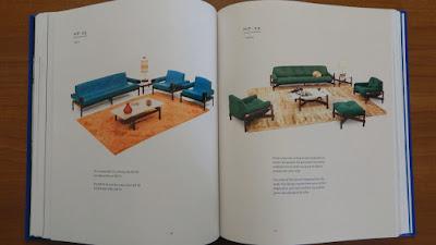 As principais criações do designer em seu principal campo de atividade, os móveis, estão comentadas no livro.