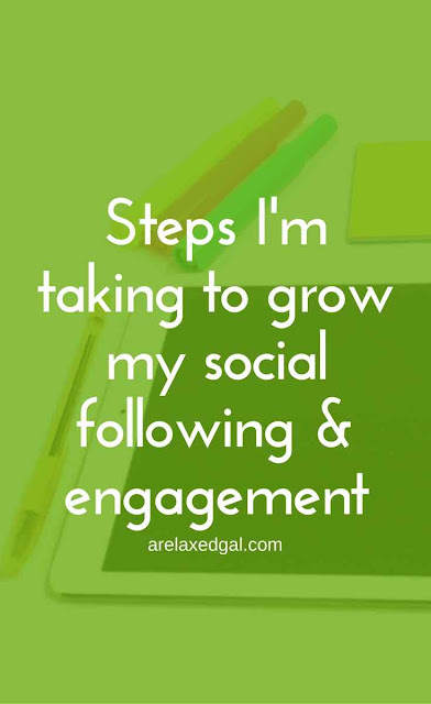How I'm Growing My Social Media Followers & Engagement | arelaxedgal.com
