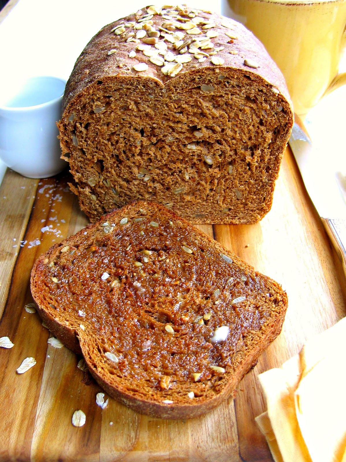 Oatmeal Molasses Bread The Bojon Gourmet