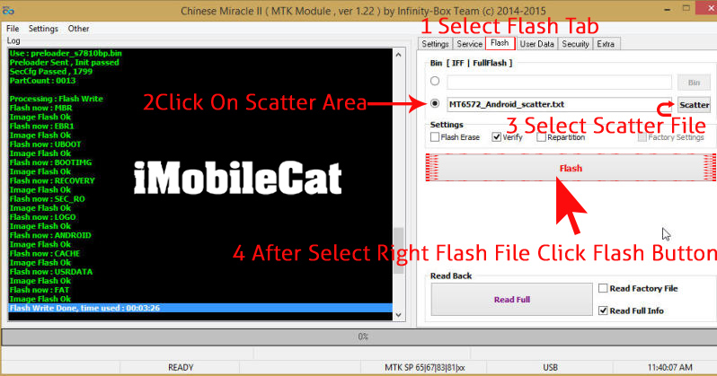 How to flash Chinese Android