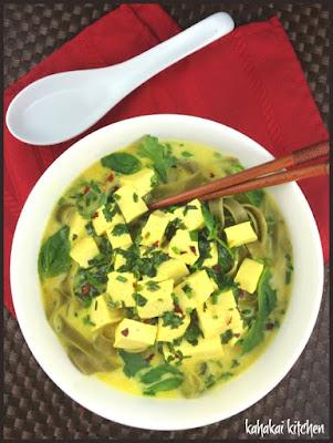 Slurp-tastic Curry Herb Noodles