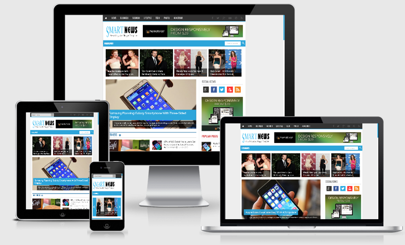 Download Smart News, 100% Responsive