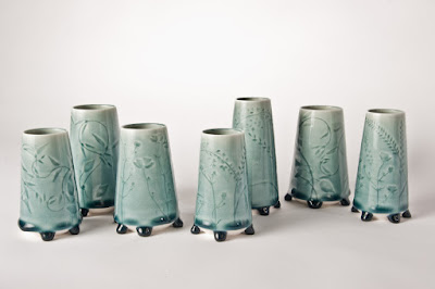 Serendripity Vases by Kate Evans Ceramics