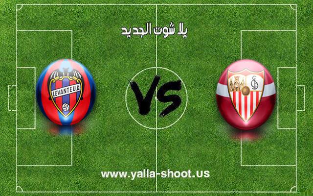اهداف مباراة اشبيلية وليفانتي اليوم 26-01-2019 الدوري الاسباني