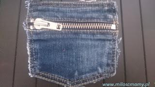 jeansowa kieszonka