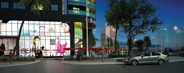Trung tâm thương mại tai chung cư FLC star Tower