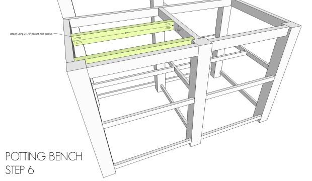 diy potting bench outdoor bar free plans