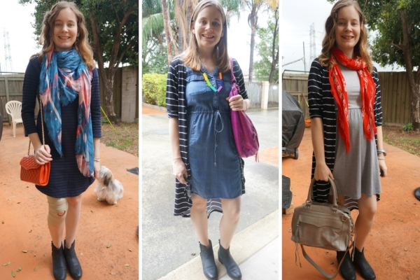 3 ways to wear Ankle Boots & Dresses in Warmer Weather | Away From Blue