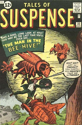 Tales of Suspense #32, the man in the bee-hive