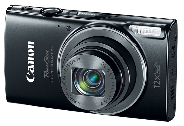 New Canon PowerShot ELPH 350 HS Cameras Launched