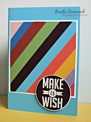 #rosaliedesmond #cardmaking #birthdaycard #scraps