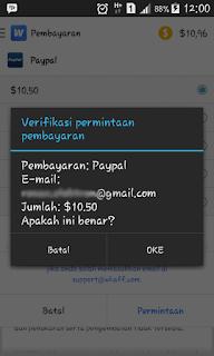 Cara Mendapatkan Dollar Menggunakan Android (Kupas Tuntas Whaff Reward App)