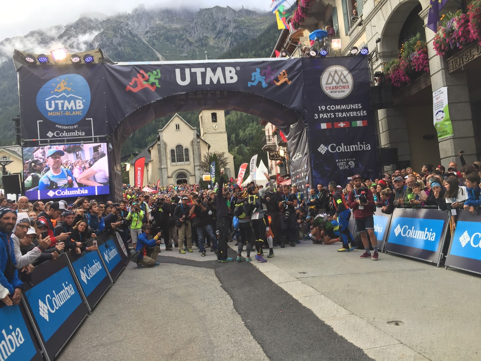 Running, my second job and passion   : UTMB 2017: what happened…