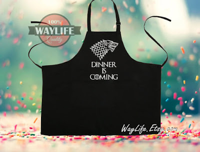 Game of Thrones Apron | Tomes and Tequila Blog