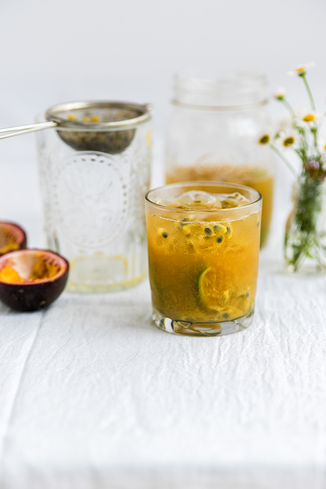 Passion Fruit Caipirinha - a refreshingly tangy cocktail perfect for ...