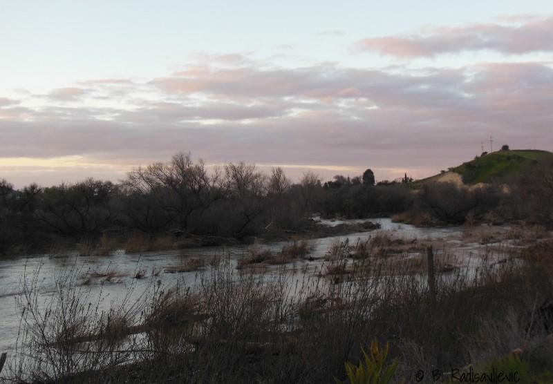 Photos of the Salinas River at Sundown