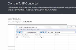 Cara Konver Alamat Situs Dengan Domain Converter