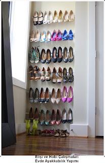 Dekorasyon - Ayakkabılık Modelleri 6