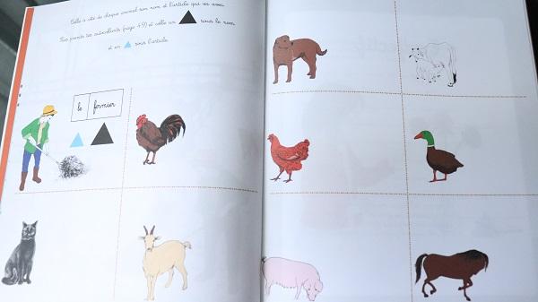 cahier d'activités montessori