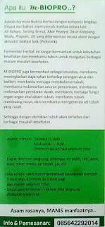 brosur terbaru m-biopro   brosur m-biopro ber-pom   m-biopro pom tr   herbalistmart085642292014