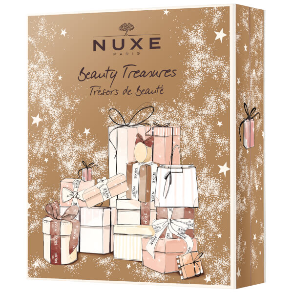 Contents of the Nuxe Beauty Treasures Advent Calendar for Holiday 2017.