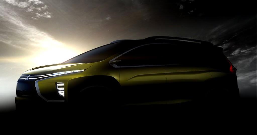 Mitsubishi teases 7 seater mpv suv concept carguide ph for Via motors truck price
