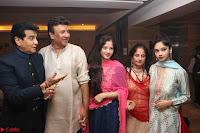 Sachin Tendulkar with his wife at Mata ka Jagrata hosted by Anu Malik 34.JPG