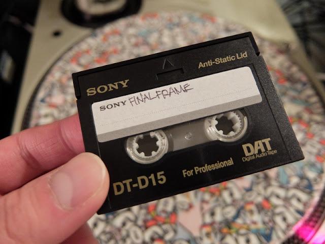 デジタルオーディオテープの写真です。